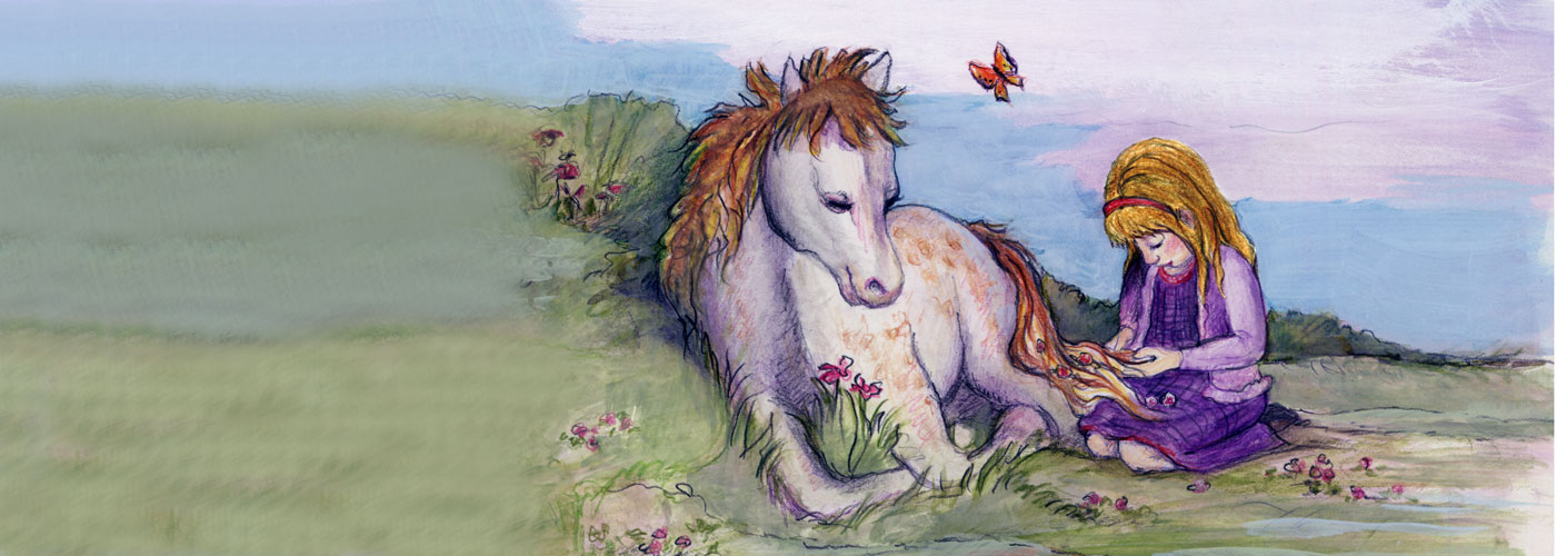 Lilly & Zander: A Children's Story About Equine Assisted Activities